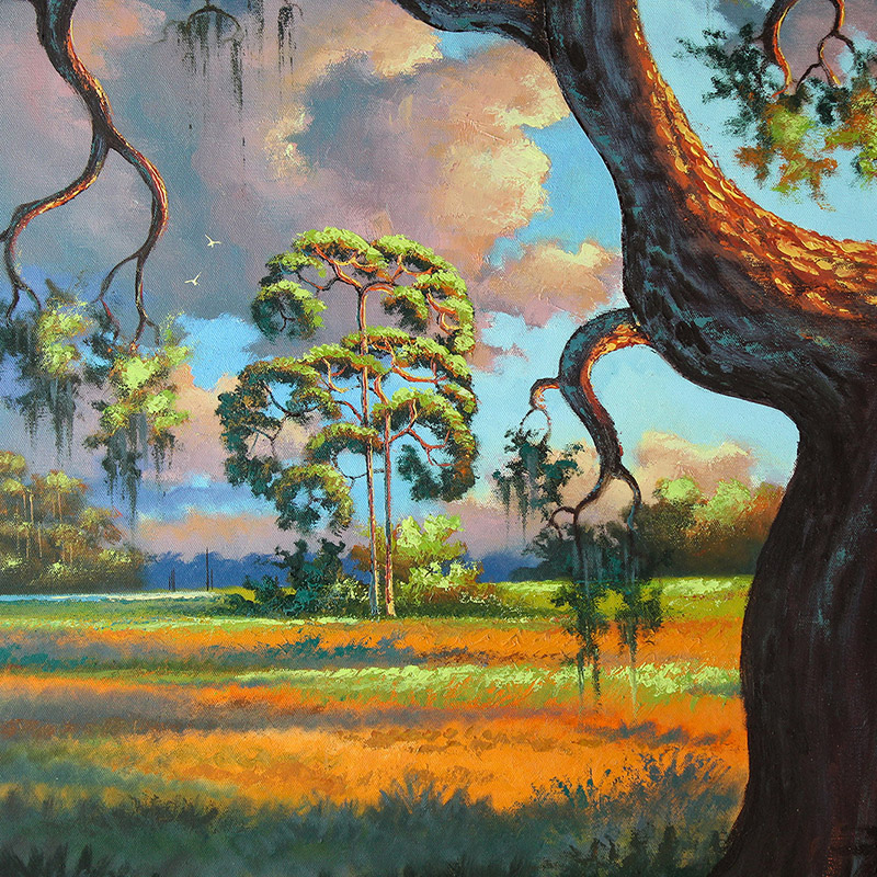 Albert Backus 1906-1991 American Florida Painting