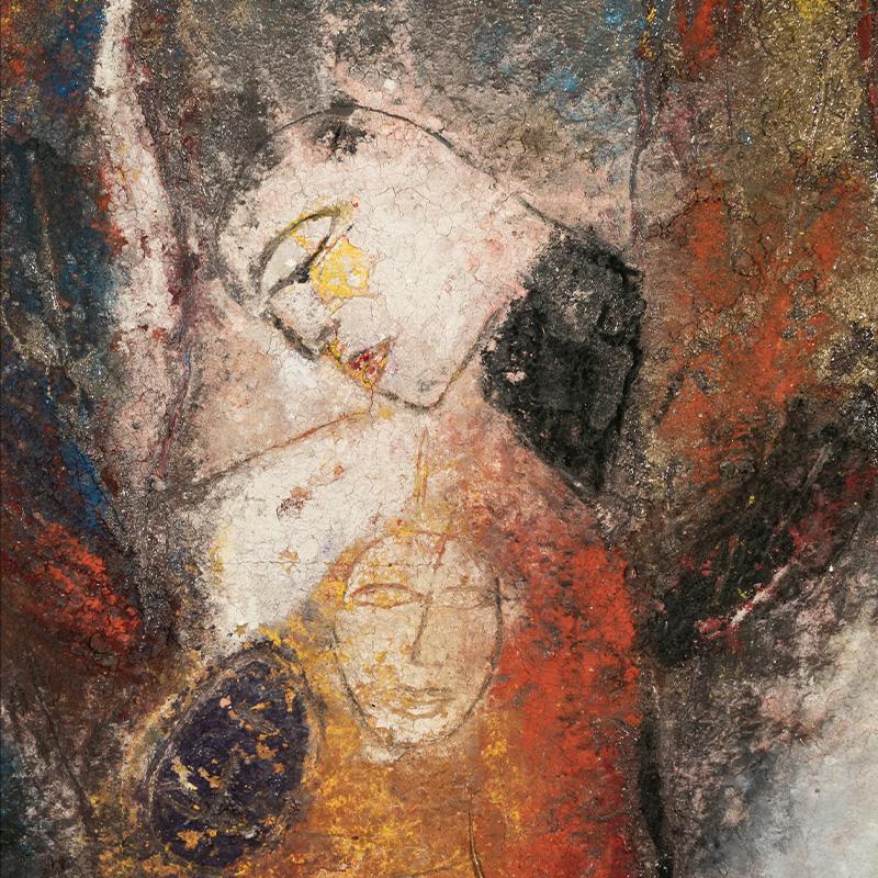 Albert Backus 1906-1991 American Florida Painting